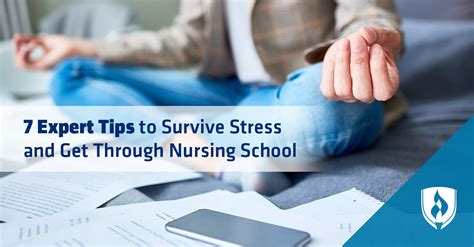 7 Expert Tips to Survive Stress and Get Through Nursing