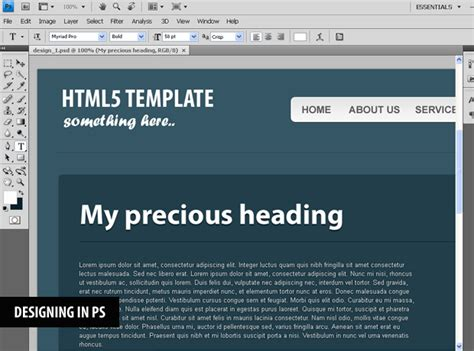 Coding a CSS3 & HTML5 One-Page Website Template - Tutorialzine