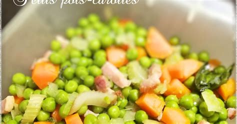 Petits pois-carottes au Thermomix | ~~ Thermomix & cie