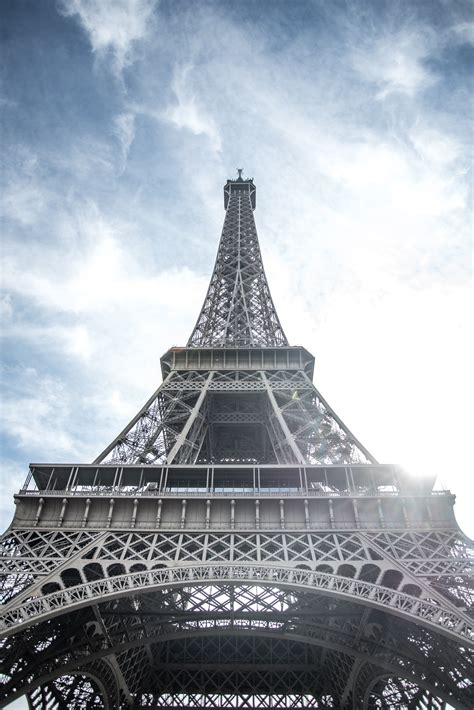 Low Angle View Photography of Eiffel Tower in France