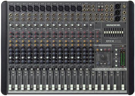 Mackie CFX16-MKII - 16 Channel Mixer With EMAC Effects