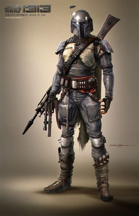 Star Wars 1313 Concept Art: What A Boba Fett Movie Could