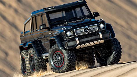 Traxxas TRX-6 Mercedes-AMG G63 6x6 Is Ready To Tackle The