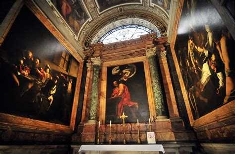 """Collection of Caravaggio's paintings, including """"The"""