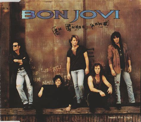 Bon Jovi - In These Arms (1993, CD) | Discogs