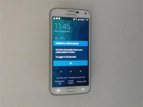 Samsung Galaxy S5 - Password, Screen Lock Removal - iFixit