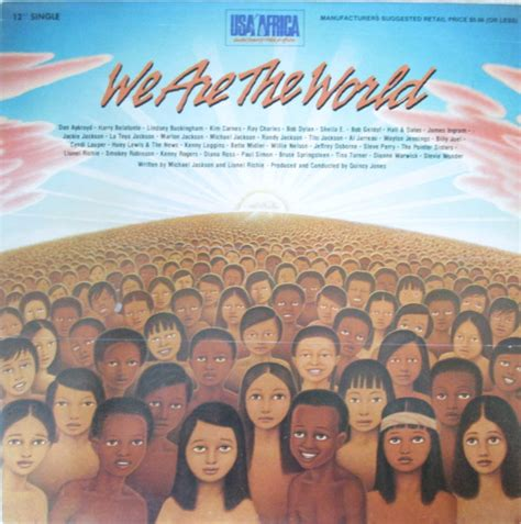 USA For Africa - We Are The World (1985, Vinyl)   Discogs