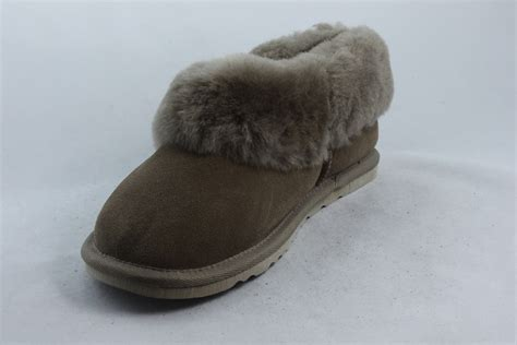 Ladies Sheein Slippers with full collar - Radford Leathers