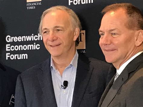 At Greenwich forum, hedge fund founders Ray Dalio and Paul