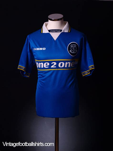 1997-99 Everton Home Shirt L for sale